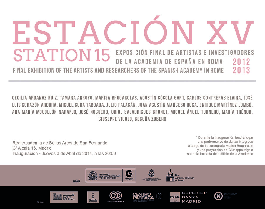 Invitación Academia San Fernando