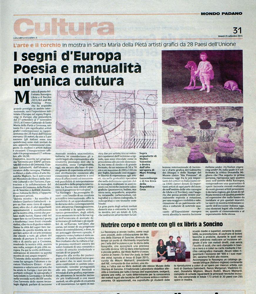 Rassegna stampa viii l arte e il torchio art and the for Camera dei deputati rassegna stampa pdf