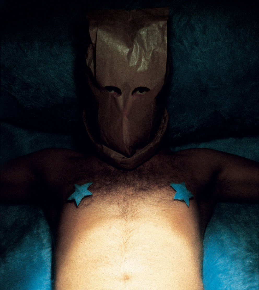 """Hooded_01"" del dittico ""Mister Hooded"" 2002"