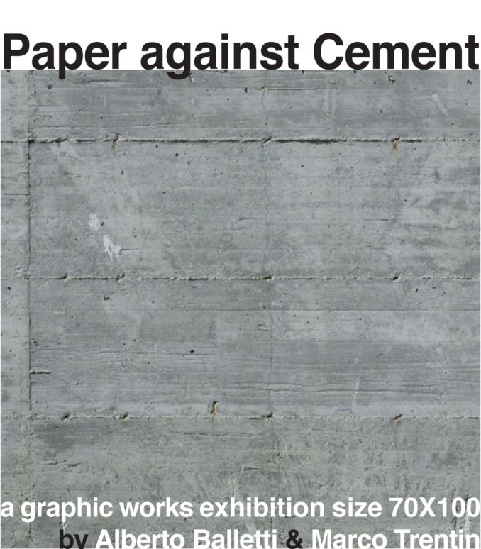 Paper against Cement